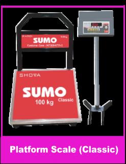 Platform Scale 100 Kg Classic