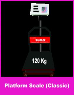Platform Scale 120 Kg