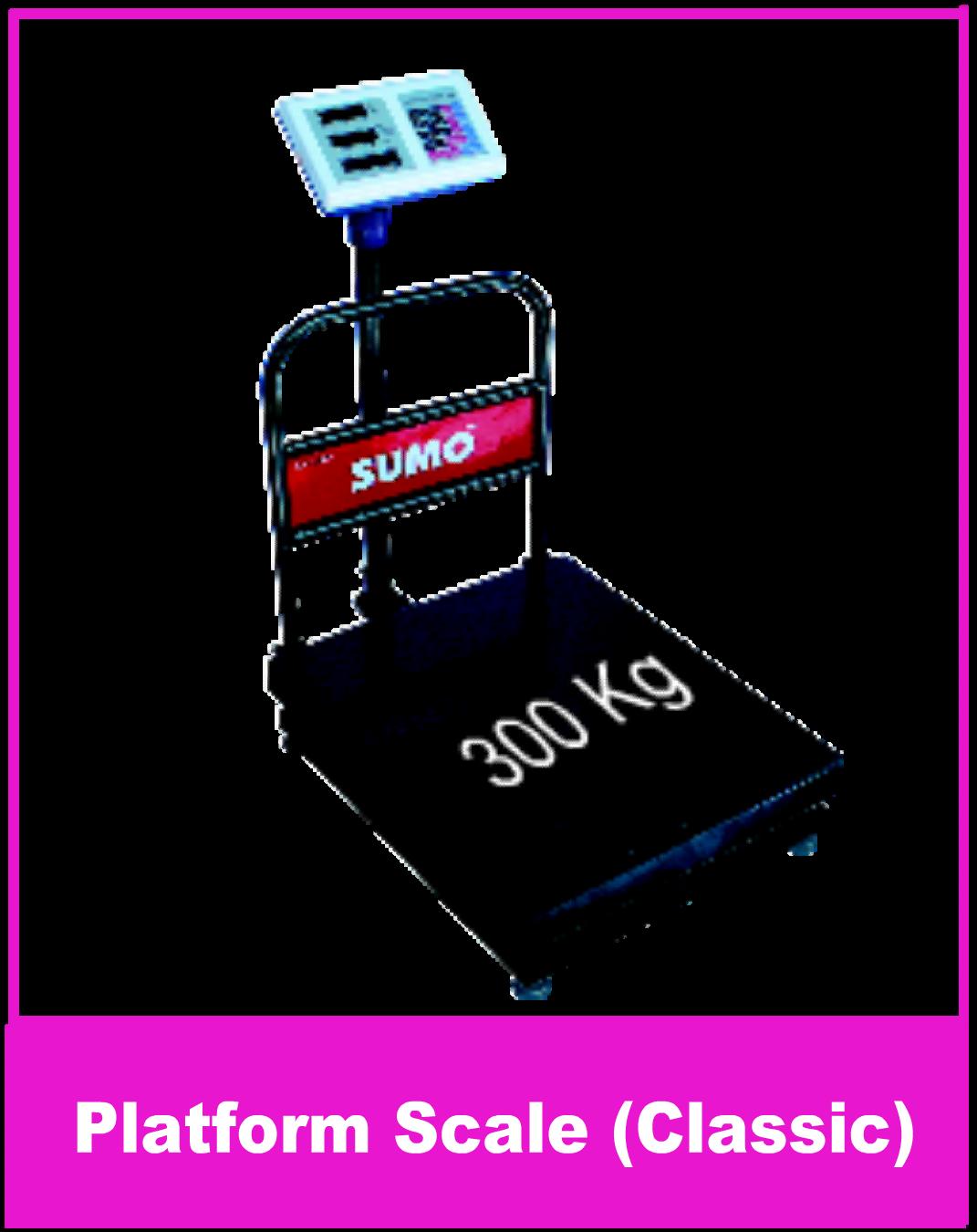 Platform Scale 300 Kg Classic