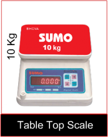 Table Top Scale 10 kg